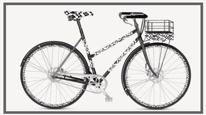 Das Louis Vuitton-Fahrrad. Quelle: focus.com