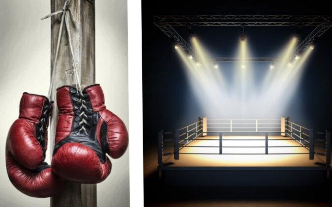 Ein Boxring. Quelle: depositphotos