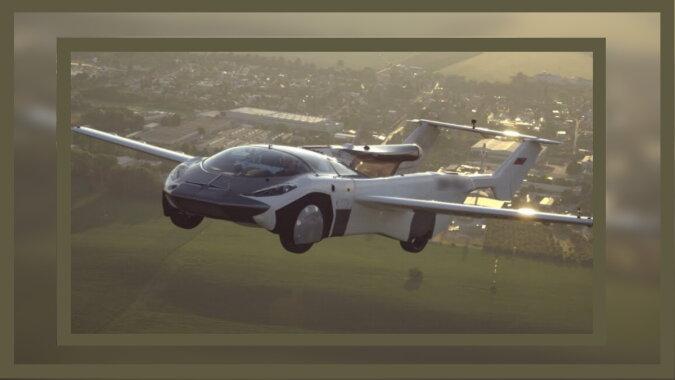 Das fliegende Auto. Quelle: esquire
