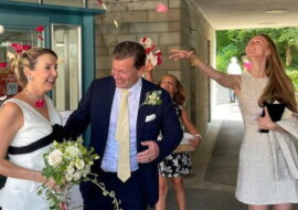 Die Hochzeit. Quelle: instagram