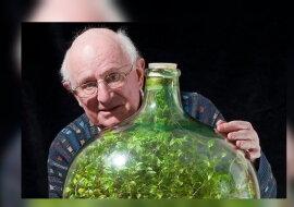 Der Mann mit der Flasche. Quelle: goodhouse