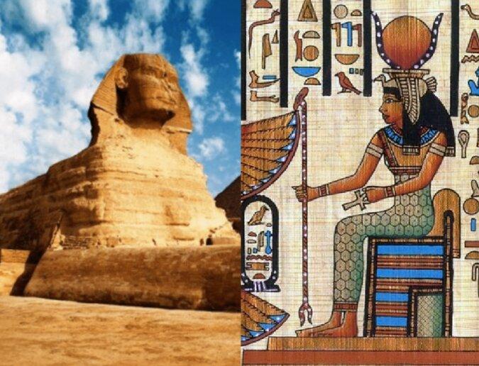 Ägyptische Relikte. Quelle:dailymail.co.uk