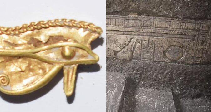 Altägyptische Artefakte. Quelle:dailymail.co.uk