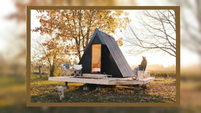 Ein Haus, das man mitnehmen kann. Quelle: travelask