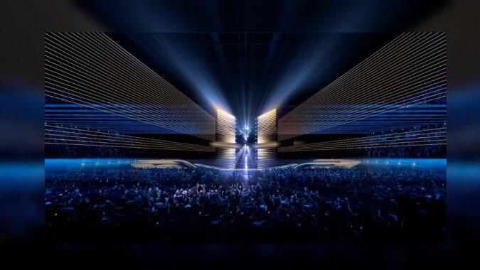 Eurovision-2021, die Bühne. Quelle: escportal