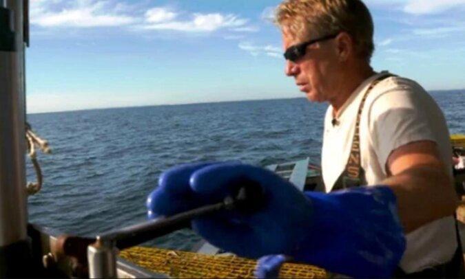 Eines Tages rettete der Kapitän eine verwundete Möwe, und der Vogel blieb ihm dankbar