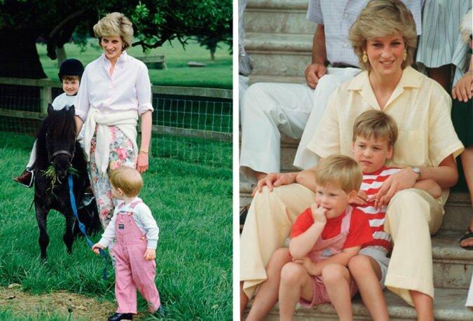 Nicht nur Mutter, sondern auch beste Freundin: Prinzessin Diana und ihre Söhne waren ein einiges Trio