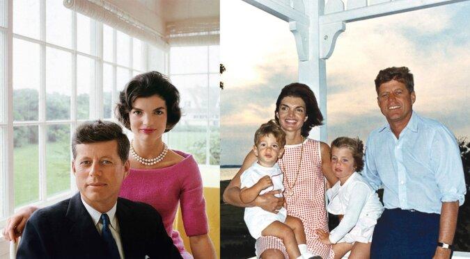 Präsident Kennedy und seiner Frau Jackie. Quelle:dailymail.co.uk