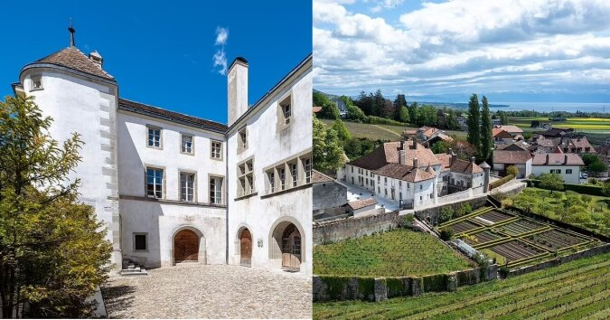 Château Le Rosey. Quelle:dailymail.co.uk
