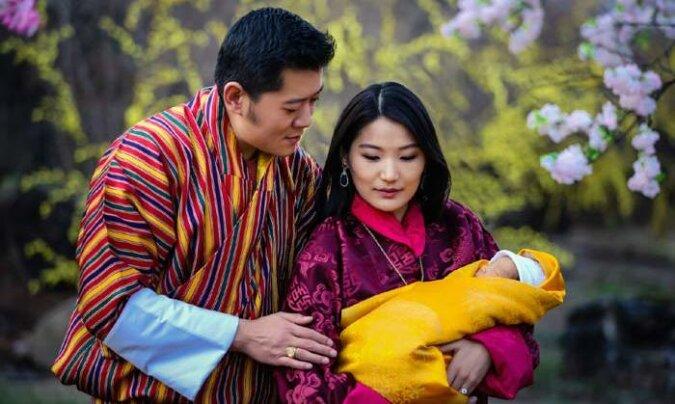 """""""Familienidylle"""": Wie die Erben des regierenden Königs von Bhutan aussehen"""