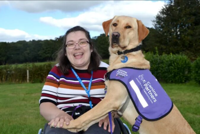 Liebestherapie: Ein Hund rettete eine besondere Frau und schenkte ihr ein neues Leben