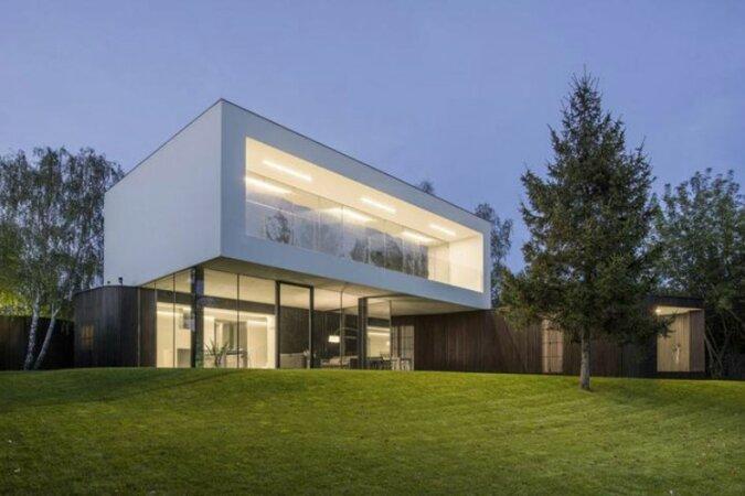 """""""Einigkeit mit der Natur"""": Ein Haus, das geschickt in die Umwelt integriert ist"""