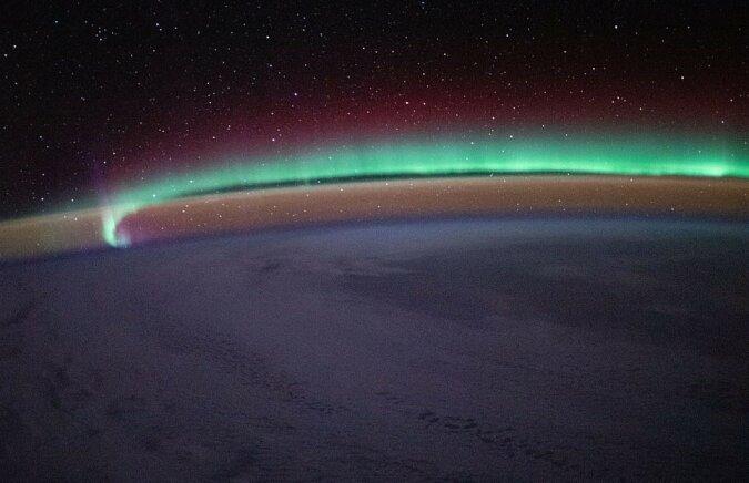 """""""Leuchten der Erde"""": Astronauten zeigten ein Foto des untypischen Glühens des Planeten"""