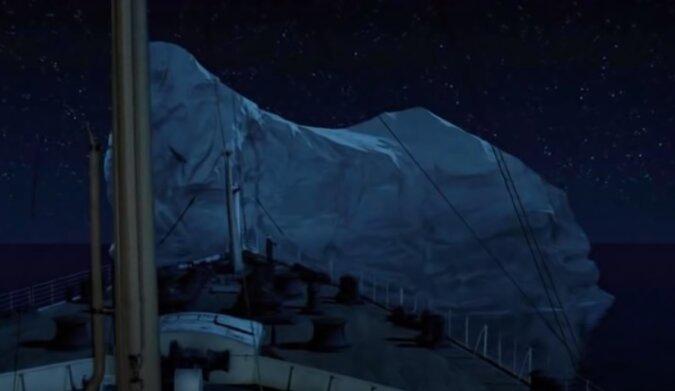 Eisberg. Quelle: Screenshot YouTube