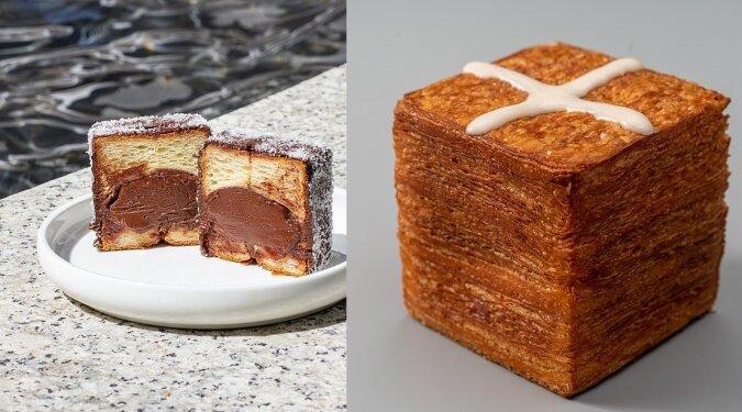 Ungewöhnliches Croissant. Quelle:dailymail.co.uk