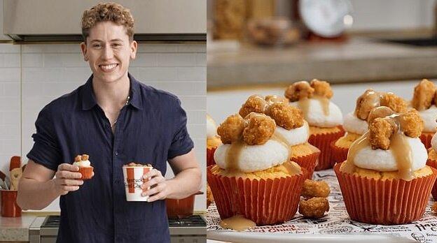 Cupcakes mit Hühnchen. Quelle:dailymail.co.uk