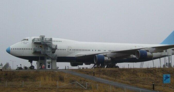 Das Flugzeug-Hostel. Quelle: travelask