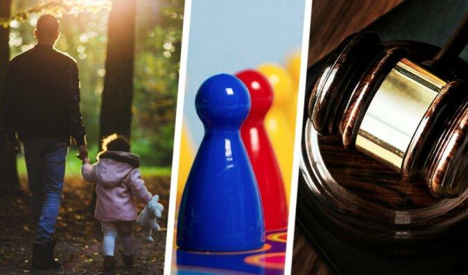 """""""Spiel im vollen Ernst"""": die junge Frau beschloss, ihren Vater zu verlassen, nachdem er sie mehrmals in einem Brettspiel besiegt hatte"""