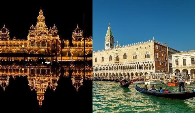 Die luxuriösesten Paläste. Quelle:dailymail.co.uk