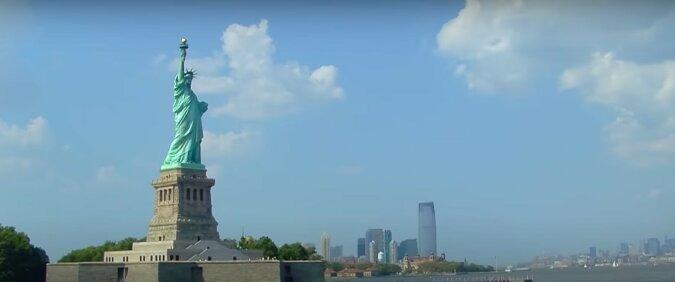 Freiheitsstatue. Quelle: Screenshot YouTube