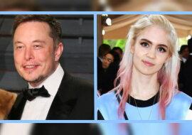 Die Sängerin Grimes und Elon Musk. Quelle: lemonade