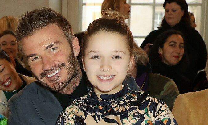 """""""Papas Tochter"""": David Beckham hat Familienfotos mit Tochter Harper veröffentlicht"""
