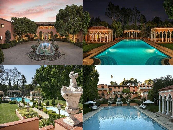 Mega-Herrenhaus in Beverly Hills. Quelle:dailymail.co.uk