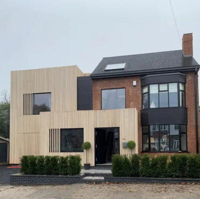 Eine gute Verwandlung: Die Briten haben das alte Haus in eine Luxusvilla verwandelt