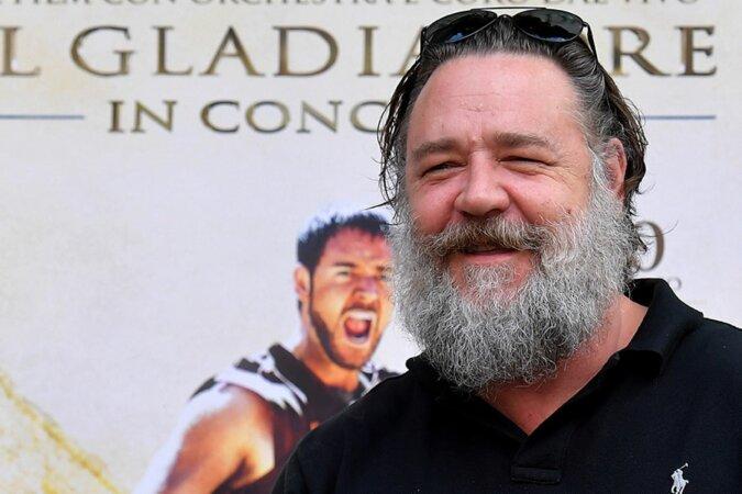 """""""Kein Gladiator mehr"""": Wie Russell Crowe sich zwanzig Jahre nach dem berühmten Film veränderte"""