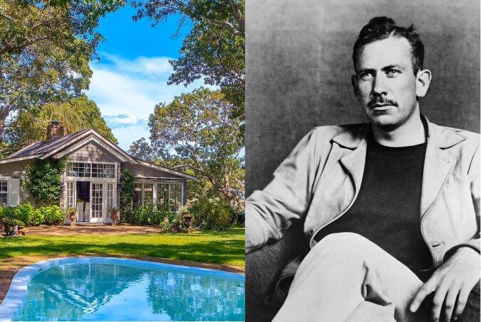 Das Haus von John Steinbeck. Quelle:dailymail.co.uk