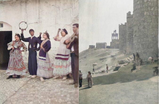 Archivaufnahmen des 20. Jahrhunderts. Quelle:dailymail.co.uk