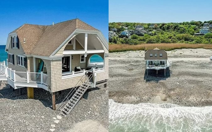 Sommer-Wind-Strandhaus. Quelle:dailymail.co.uk