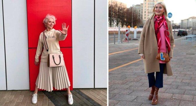 """""""Jung und schön"""": Frauen über 50, die bevorzugen, stilvoll auszusehen"""