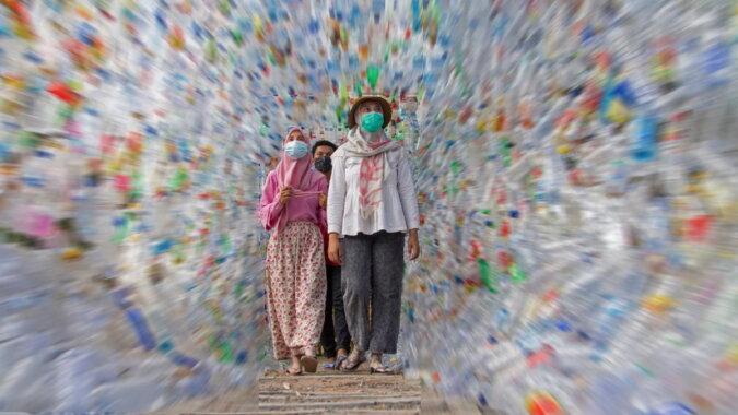 Ein Museum, das vollständig aus Plastikmüll besteht. Quelle: reuters.com