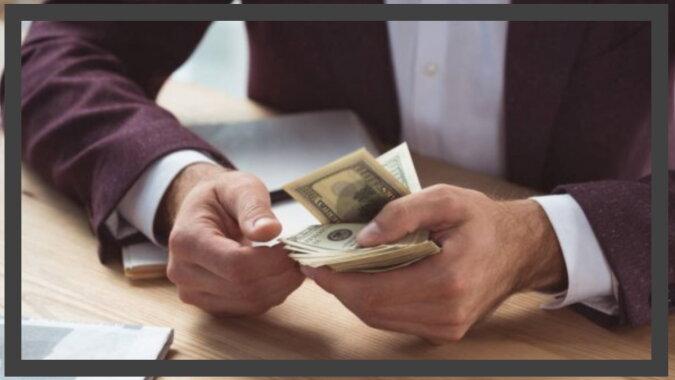 Der Mann mit dem Geld. Quelle: pinterest