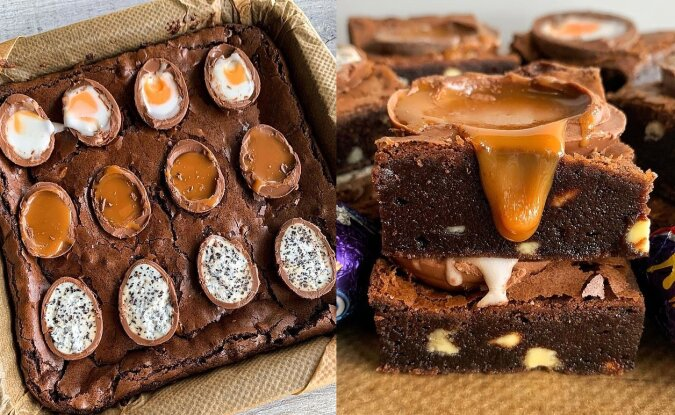 Schokoladenbrownies. Quelle:dailymail.co.uk