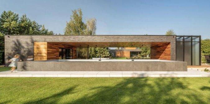 """""""Es gibt alles für ein komfortables Leben"""": Gemütliches modernes Haus im Dorf"""