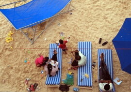 Ein Strand in Paris. Quelle: travelask