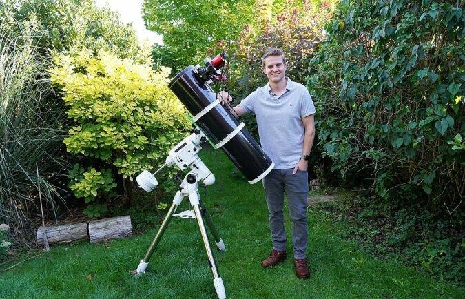"""""""Fünfzig Millionen Lichtjahre entfernt"""": Der Mann schaffte es, Weltraumobjekte über seinem Hinterhof zu fotografieren"""