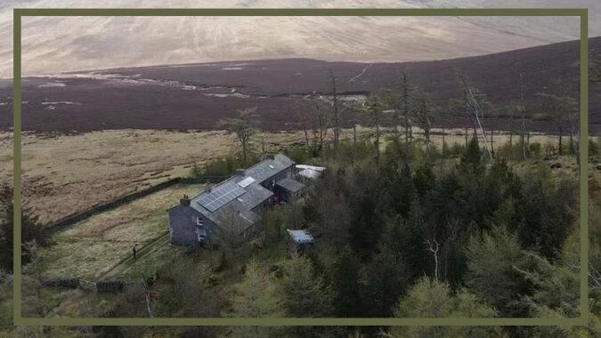 Das abgelegenste Haus von England. Quelle: tengrinews.com