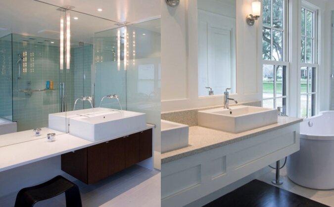 Reinigung des Badezimmers. Quelle:dailymail.co.uk