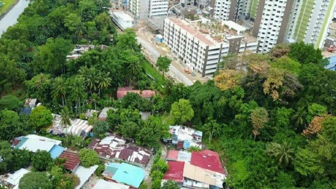 Ein Kampong in Singapur. Quelle: travelask