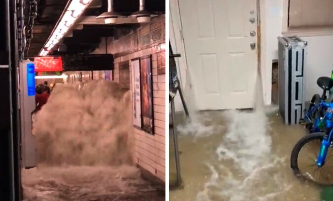 Überschwemmungen. Quelle: Screenshot Twitter