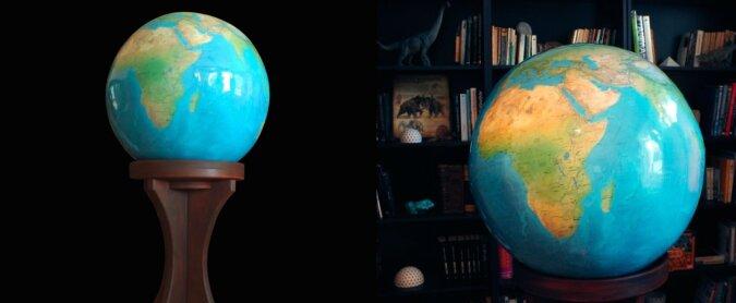 Globus. Quelle: boredpanda.com