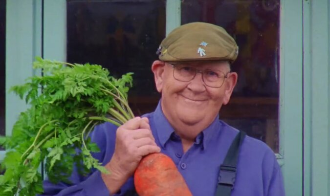 72-jähriger Gerald Stratford. Quelle: Screenshot YouTube