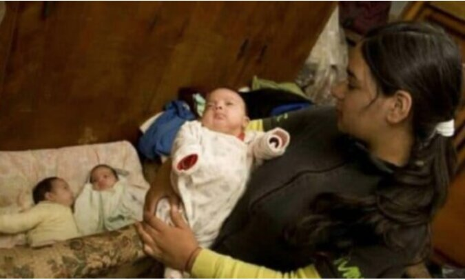Die jüngste kinderreiche Mutter: Mit siebzehn Jahren hatte eine junge Frau bereits sieben Kinder