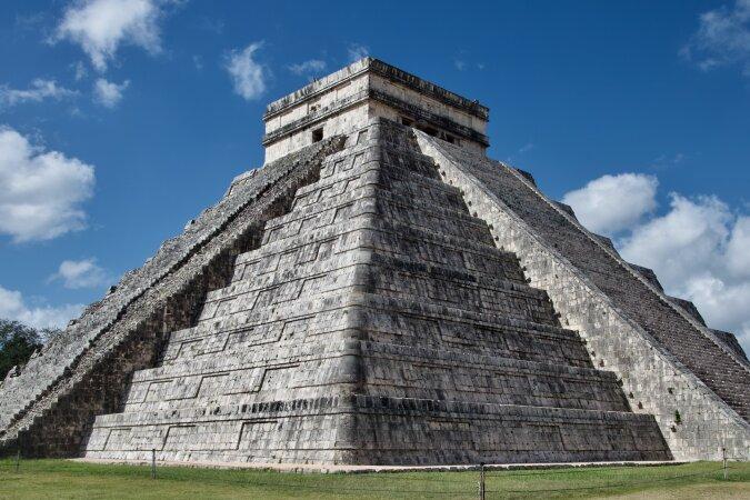 Eine Maya-Pyramide. Quelle:dailymail.co.uk