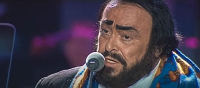 Luciano Pavarotti. Quelle: Screenshot YouTube