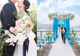 Taiwan Hochzeit. Quelle:dailymail.co.uk