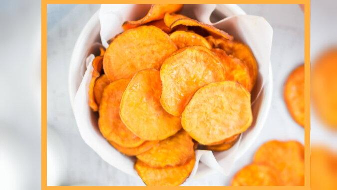 Süßkartoffelchips. Quelle: hmcsports